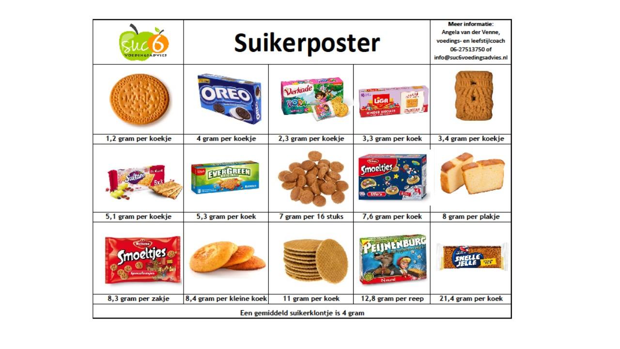 Suikerposter koekjes